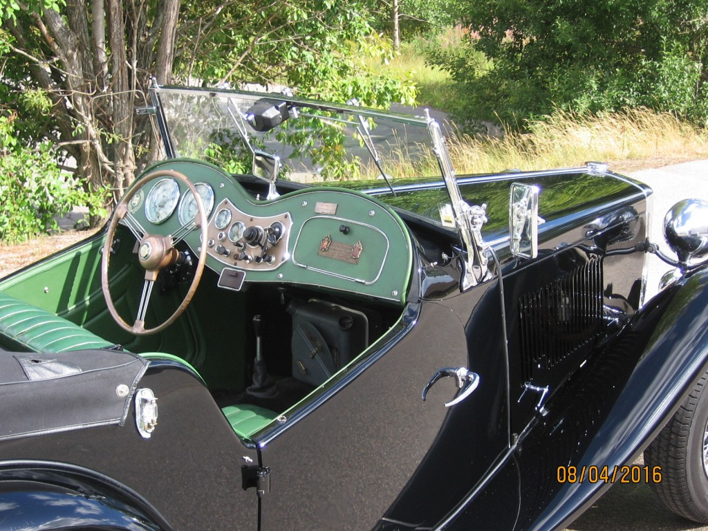 MG Midget 1953