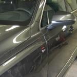 Ny Audi Q7 polerad och lackbehandlad med Autosmart Silver One